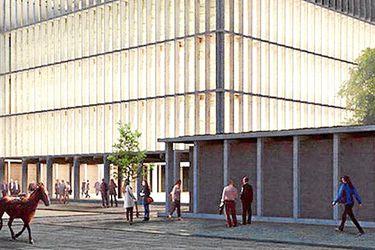 nuevo edificio municipal de Providenci