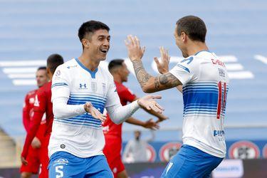 La UC vuelve a marcar tres goles en un partido luego de 14 encuentros
