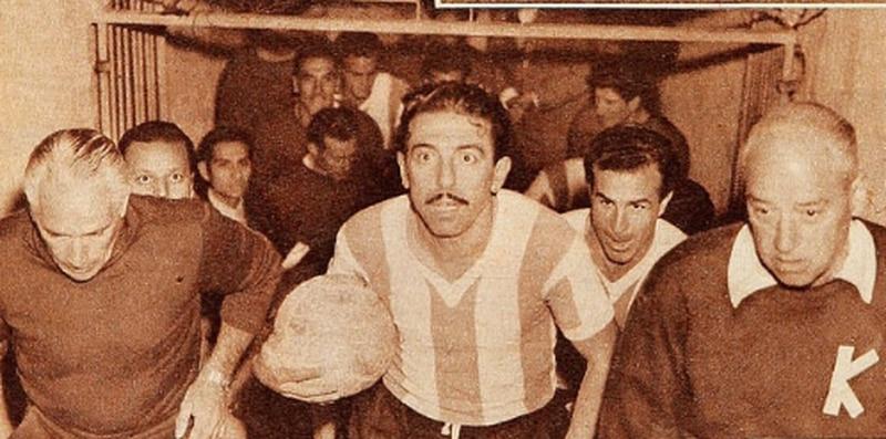 Chile-Argentina, campeonato sudamericano 1955. La Tragedia del Estadio Nacional