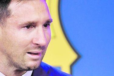 Llanto y sonrisa de Lionel Messi