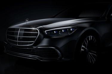 Una nueva generación del Mercedes-Benz Clase S asoma la nariz