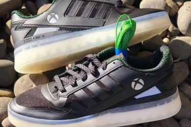 Se filtran zapatillas de colaboración de Adidas con Xbox
