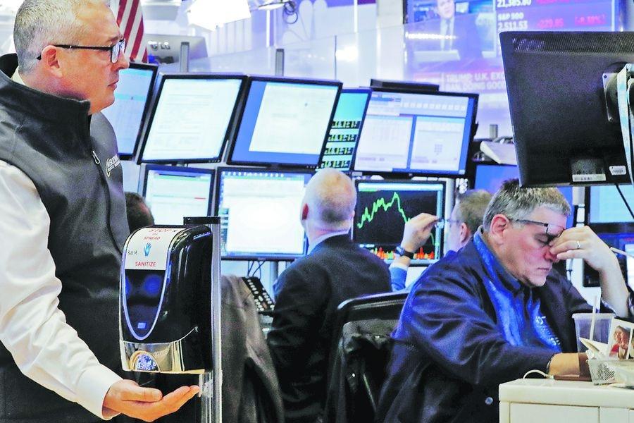 Bolsas mundiales intensifican sus desplomes tras sombrío panorama económico