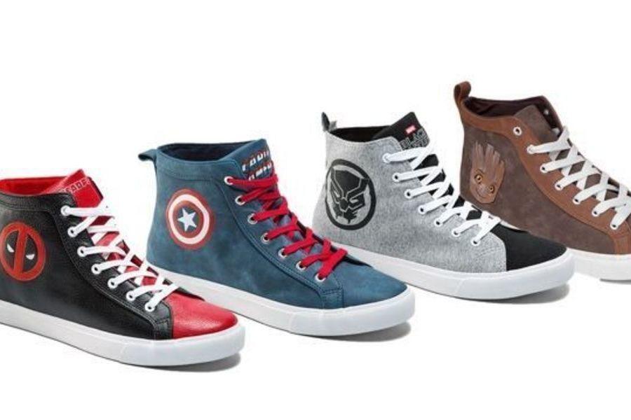 marvel zapatillas