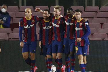 Con Messi inspirado, el Barcelona golea al Elche