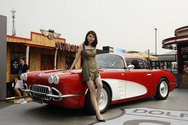 Lo último en copias chinas: un 'Corvette' del 58, pero con motor ni de seis ni ocho cilindros