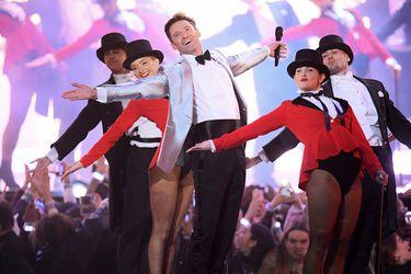 Revisa la sorprendente actuación de Hugh Jackman en los Brit Awards