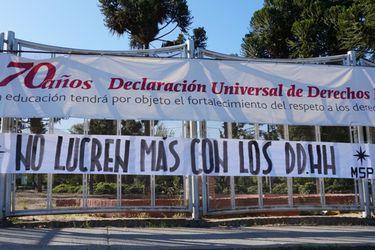 """""""No lucren más con los DD.HH."""": La nueva agresión de los Social Patriota a Villa Grimaldi"""