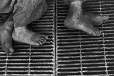 Estrenan muestra en diaporama de Sergio Larraín: 40 fotografías en seis minutos