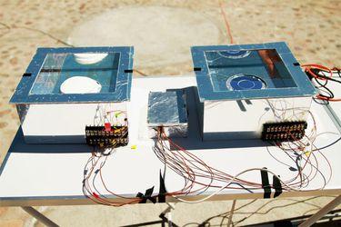 Científicos chilenos prueban un refrigerador sin electricidad en el desierto de Atacama
