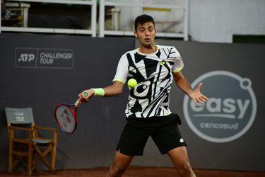 Tomás Barrios se despidió luchando de Santiago: cayó en semifinales del Challenger capitalino