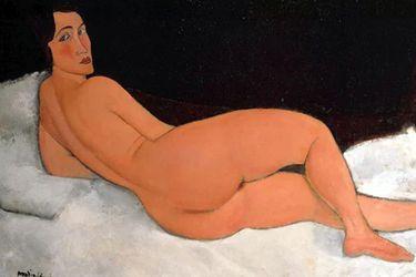 desnudo modigliani
