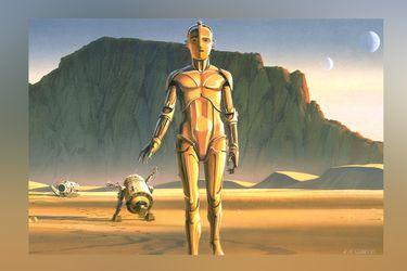 El fan trailer que muestra como se vería Star Wars con su diseño original