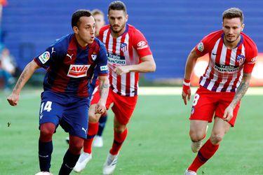Fabián Orellana es titular en derrota del Eibar ante el Atlético de Madrid