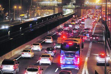 Lineas del Metro tras falla ocurrida en linea 4 de Santiago