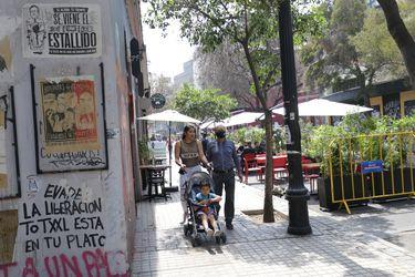 Cámara Nacional de Comercio rechazó destrozos sufridos en el Barrio Lastarria