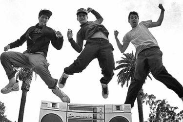 Una canción de Los Ángeles Negros sampleada por Beastie Boys