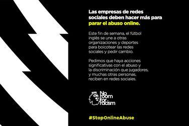 El fútbol ingles comienza su boicot contra el abuso online en las redes sociales