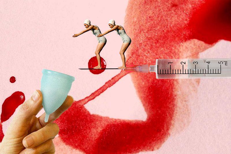 Puede la vacuna cambiar el periodo menstrual? - La Tercera
