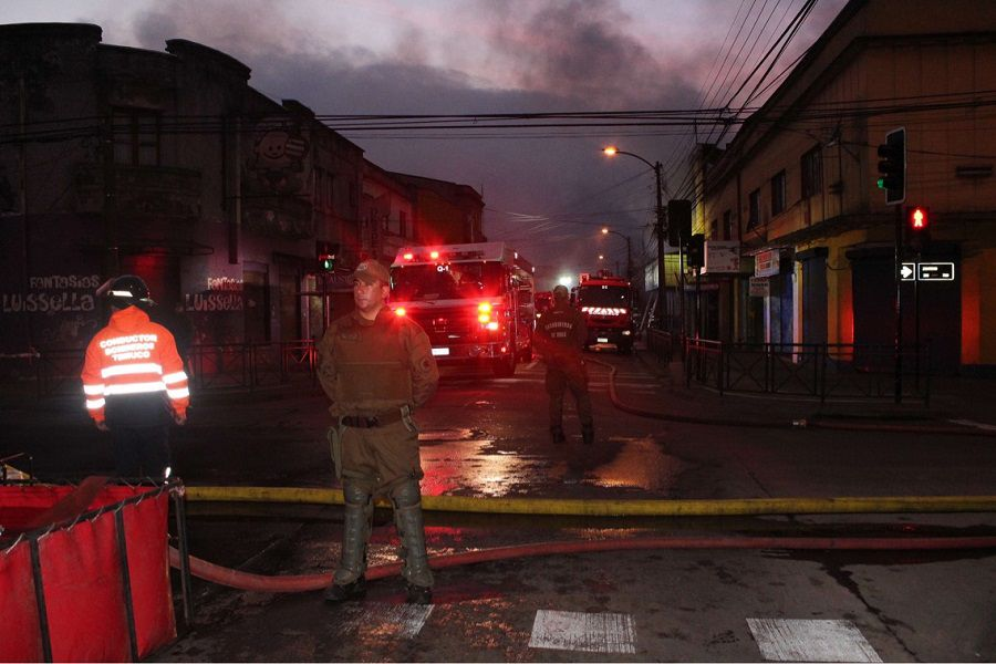 Incendio Temuco