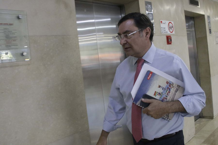 Felipe Guevara, intendente de la Región Metropolitana