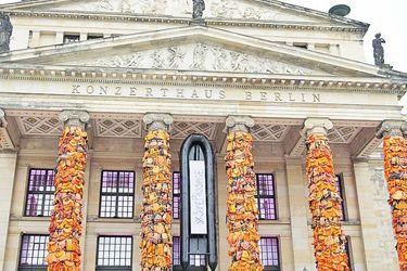 Controversial obra de Ai Weiwei ocupará fachada del Archivo Nacional