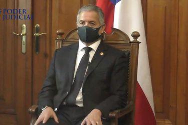 Mario Carroza asume como nuevo ministro de la Corte Suprema