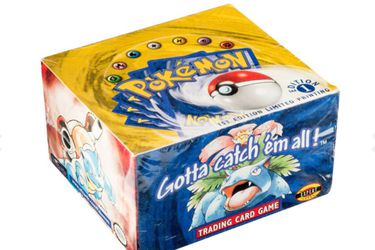 Caja de cartas Pokémon se vende por más de 400 mil dólares en una subasta