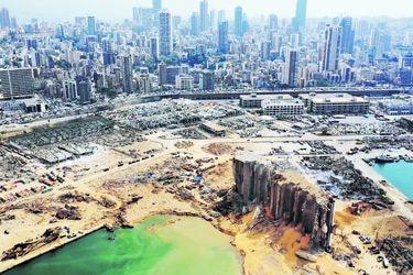 Beirut, un chileno en la zona cero