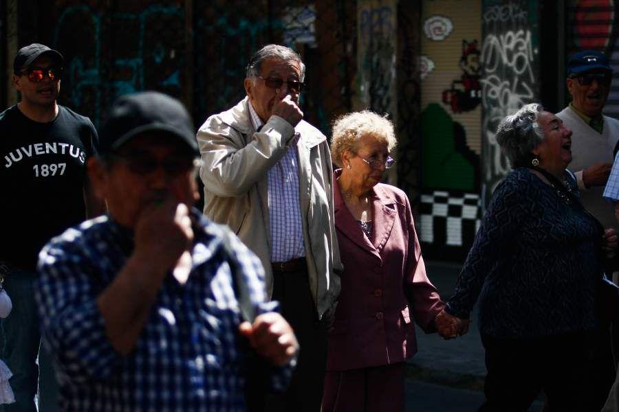 Marcha tercera edad Valparaiso