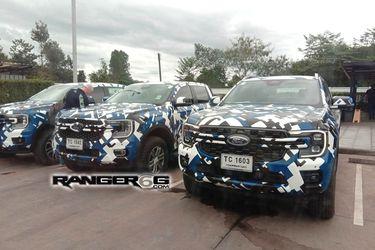 La nueva camioneta Ranger cada vez más al descubierto