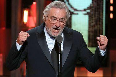 El polémico mensaje de Robert De Niro a Donald Trump
