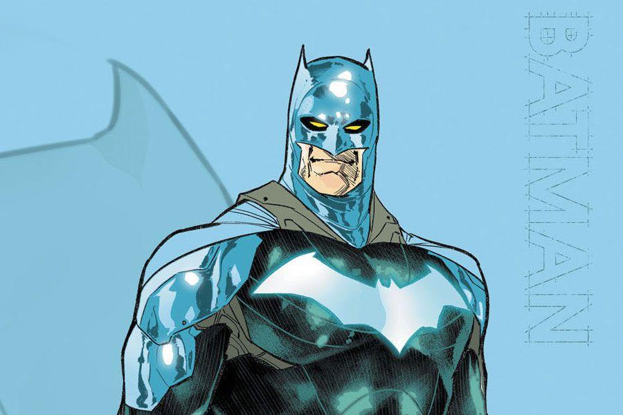 El nuevo traje de Batman. Foto:LT
