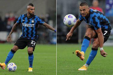 Alexis y Vidal, en aislamiento total por el rebrote en Italia y los positivos en Inter