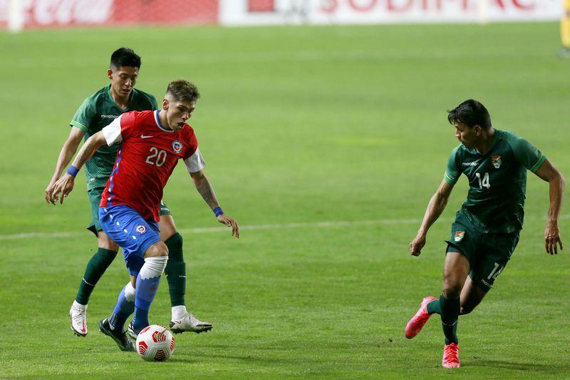 Carlos Palacios fue unos de los jugadores más destacados del triunfo de la Roja sobre Bolivia, en el debut de Lasarte.