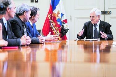 Piñera retoma el protagonismo