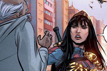 La nueva Wonder Woman confronta a la corrupción política de Brasil en el futuro de DC Comics