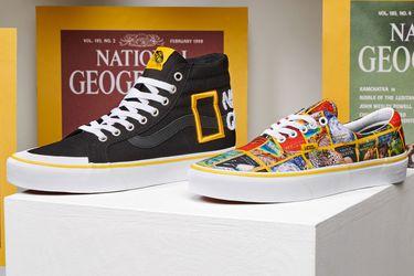 Los 130 años de National Geographic son celebrados por una nueva colección de Vans