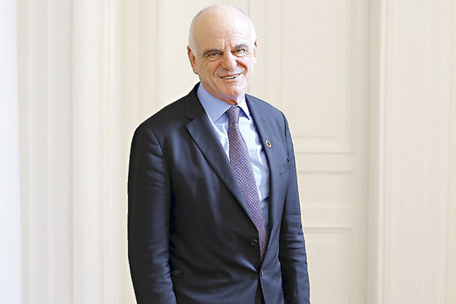 David Nabarro, candidato a director general de la OMS