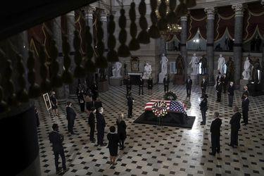 El homenaje final a Ruth Bader Ginsburg: destacada jueza de la Corte Suprema de EE.UU. recibe funeral con máximos honores en el Capitolio
