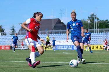 Chile cayó por 1-0 frente a Eslovaquia en el primer duelo amistoso preparativo para los Juegos Olímpicos de Tokio 2020.