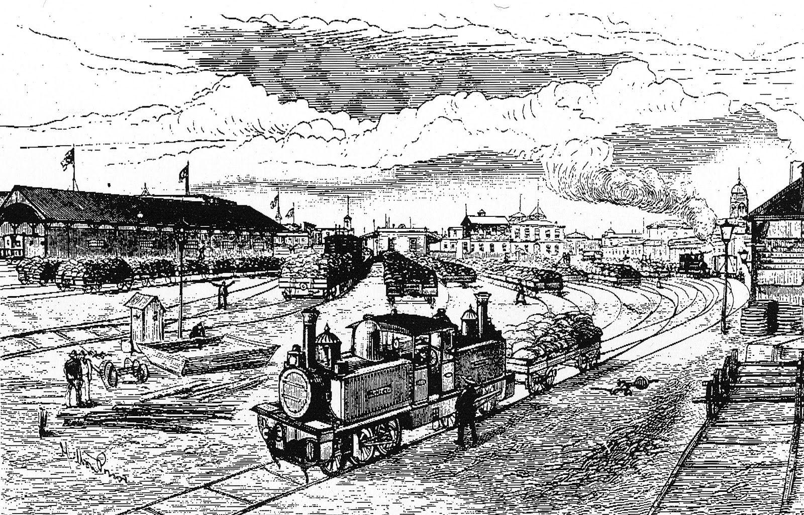 Antiguo ferrocarril de Iquique