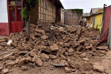 LA SERENA: Daños tras fuerte temblor