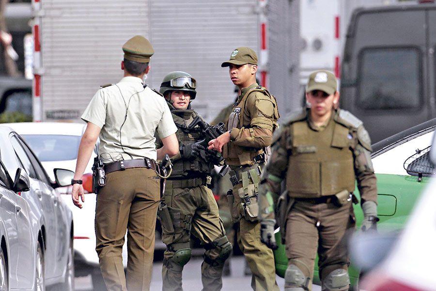 Carabineros policial homicidio