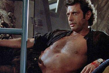 La increíble estatua de Jeff Goldblum que celebra los 25 años de Jurassic Park