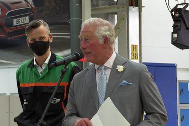 El Príncipe Carlos, invitado de honor en la celebración de los 20 años de producción Mini en Oxford
