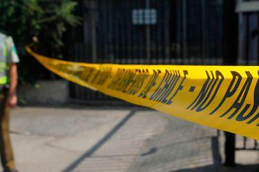 Prisión preventiva para hombre imputado por femicidio ocurrido el sábado en Santiago Centro