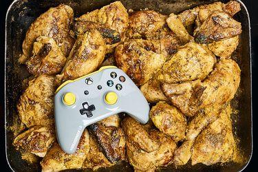 control xbox one pollo