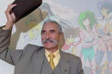 Falleció Raúl de la Fuente, el clásico narrador de Los Caballeros del Zodiaco