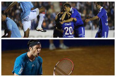 21 de septiembre: la U consigue un recordado triunfo en Uruguay y Chile vuelve al Grupo Mundial de la Copa Davis